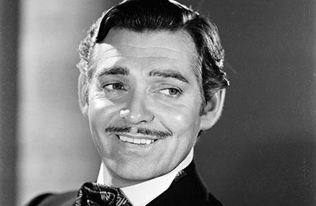Baffo a penna Clark Gable