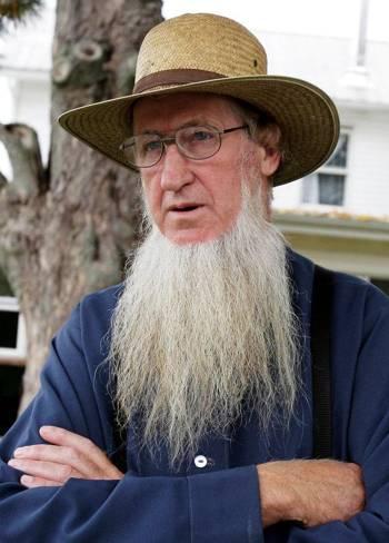 Barba lunga senza baffi