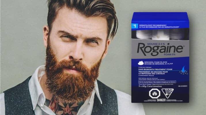 Minoxidil per far crescere la barba
