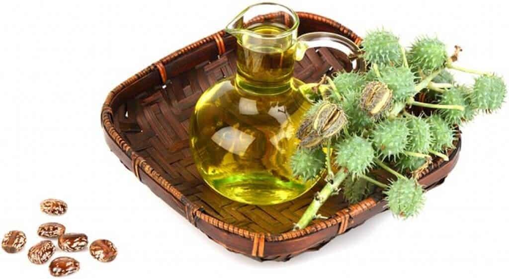 olio di ricino per la barba