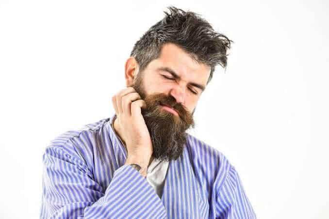 Perché la barba prude